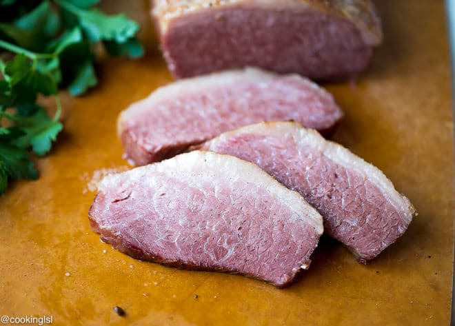 Slow Cooker Corned Beef Recipe for st patrick