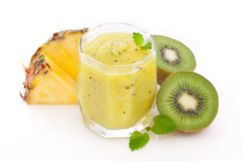 tropic smoothie stock photo